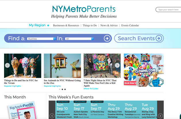 Welcome to the NEW NYMetroParents.com!