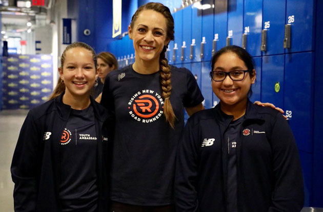 Olympian Jenny Simpson to Serve as Ambassador for New NYRR Youth Fitness Program