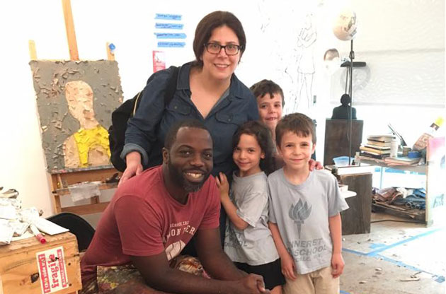A Family Outing, a Kind Artist, and a Story That Will Melt Your Heart