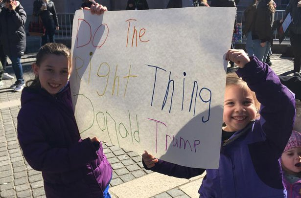 The Family That Protests Together