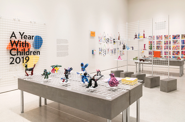 Guggenheim Museum Debuts Children's Artwork Exhibit