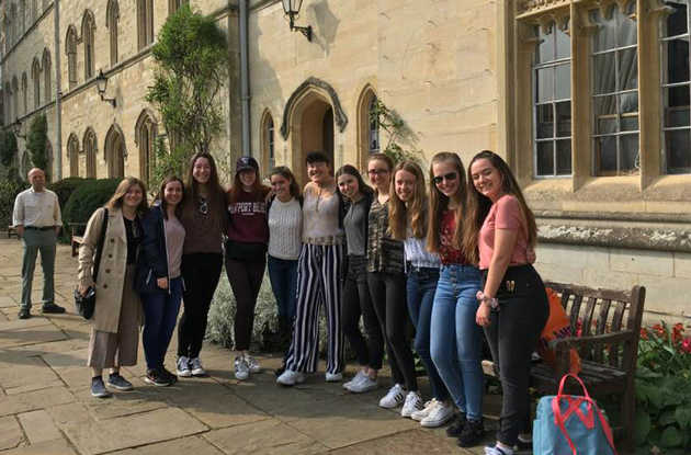 Academy of the Holy Angels Students Attend Tailor-Made Oxford University Course