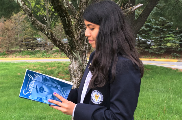 Academy of the Holy Angels Student Has Writing Published in Local Magazine