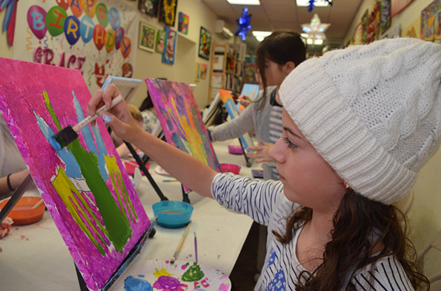 Art Fun Studio in Bay Ridge Expands Birthday Party Offerings