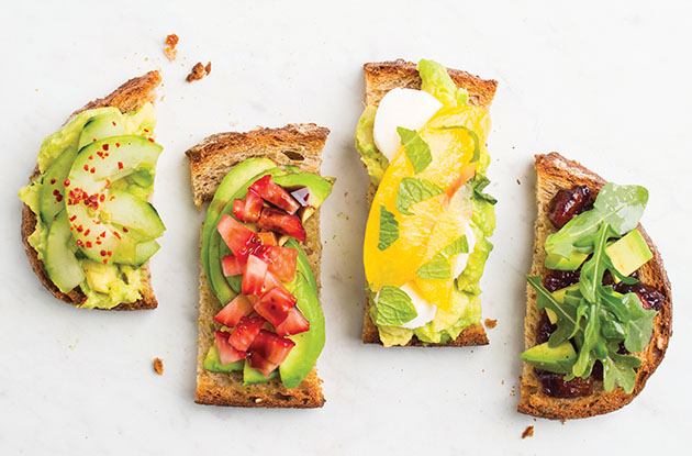 20 New Takes on Avocado Toast