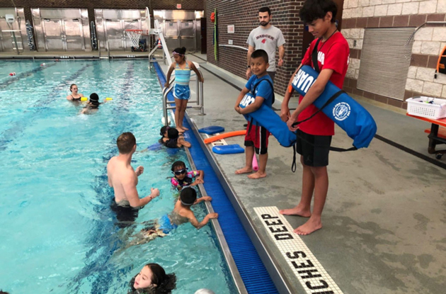 Badger Swim Club and School District's Co-Op Summer Enrichment Program Have Partnered to Teach Kids Water Safety This Summer in Mamaroneck