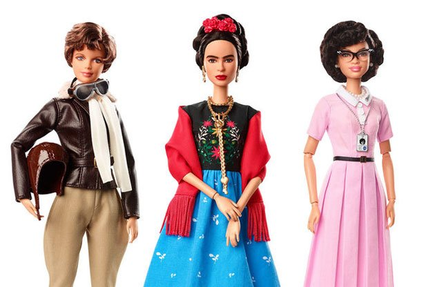 Mattel Introduces 'Inspiring Women' Barbies