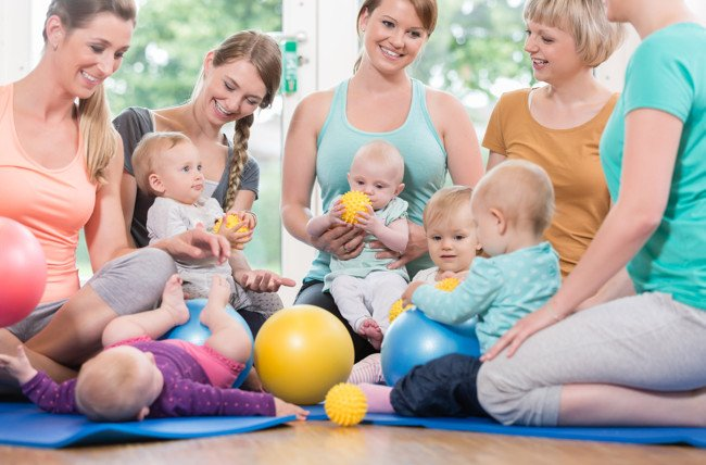 The Social and Developmental Benefits of Mommy-and-Me Classes