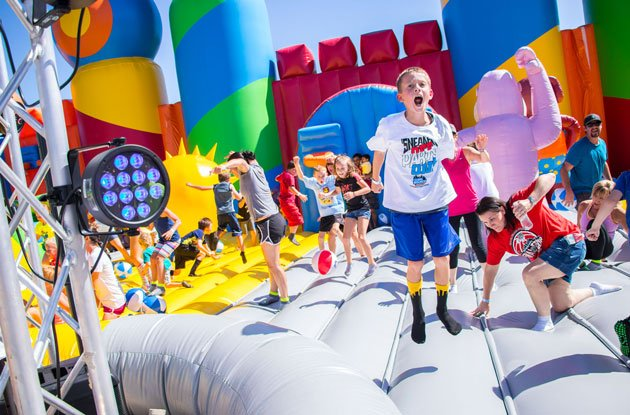 The Big Bounce America Tour Is Bringing 20,000 Feet of Inflatable Fun to Brooklyn