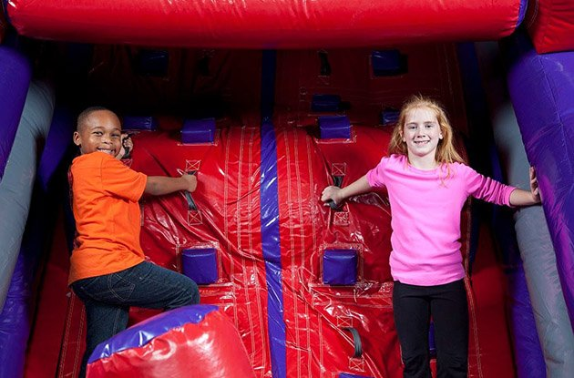 Indoor Bounce House in Farmingdale Adds New Equipment