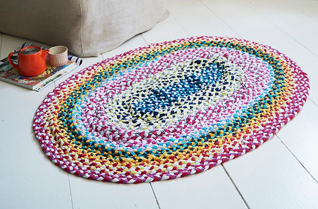 Home DIY: Braided Rug