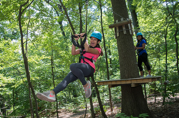 Treetop Adventure Now Offers Special Late-Night Hours to Climb and Zipline