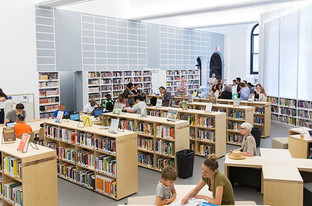 Brooklyn Heights Library Finds Temporary Home