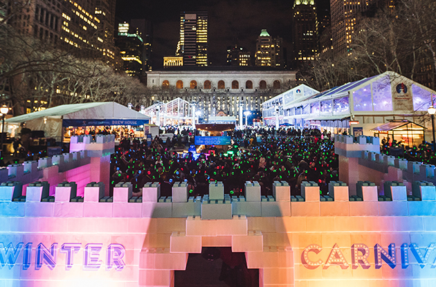 A Winter Carnival Is Opening at the Bank of America Winter Village at Bryant Park