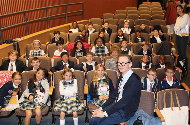 Buckley Third Graders Attend Writers Workshop at Columbia Teachers College