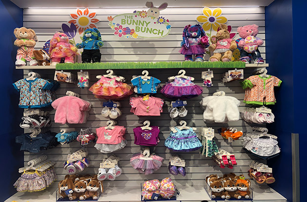 Build-A-Bear Workshop Celebrates 'Hop Hop Hooray' Weekends Leading up to Easter