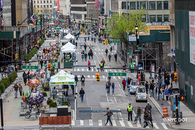 Celebrate Car Free Earth Day in New York City