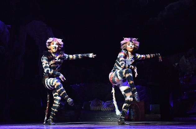 NYC Students Get a Peek Behind the Scenes of 'Cats' on Broadway