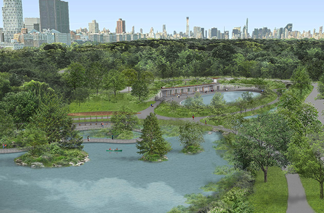 The Central Park Conservancy Unveils Design for Restoration and Reunification of North End on Upper West Side