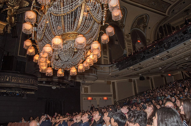 NYC Students See Behind the Scenes of 'The Phantom of the Opera'