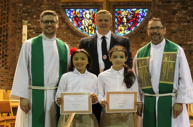 The Chapel School Awards Two Fifth Graders with Scholarships
