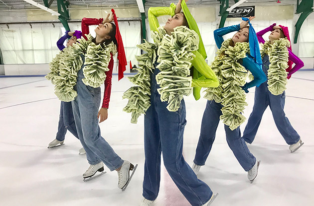 Sky Rink All Stars, Chelsea Piers Skating Troupe, Wins Silver Medal at National Skating Competition