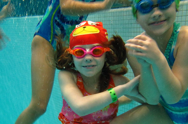 Purchase College Learn-to-Swim Program Adds Synchronized Swimming Classes