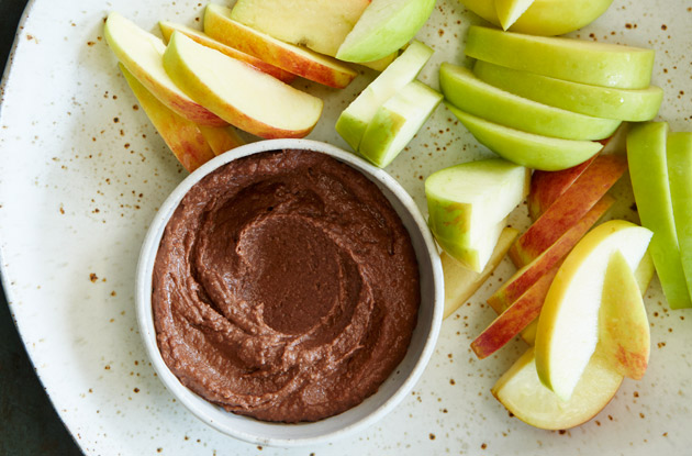 chocolate hummus from kitchen matters