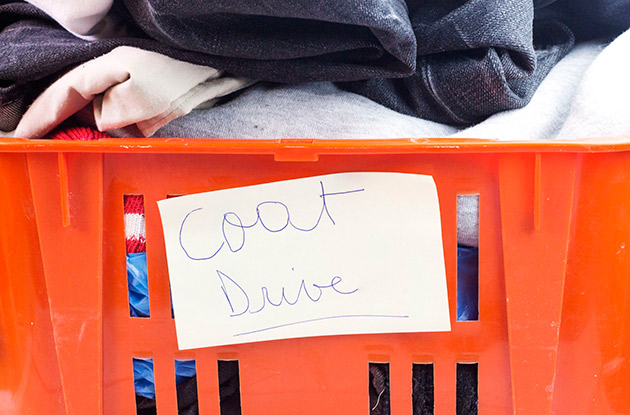 Donate New or Gently Used Coats to Massage Outpost, Williamsburg, and Greenpoint
