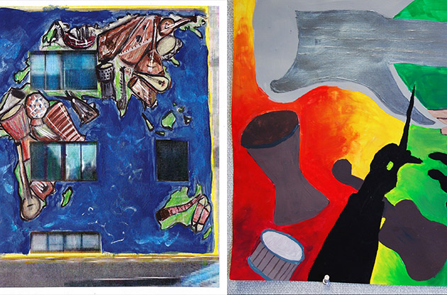Westchester High School Students Win 'Colors of Music' Mural Contest