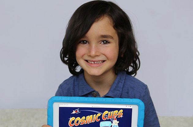 Cosmic Cubs Adds a Coloring Page App to its Repertoire