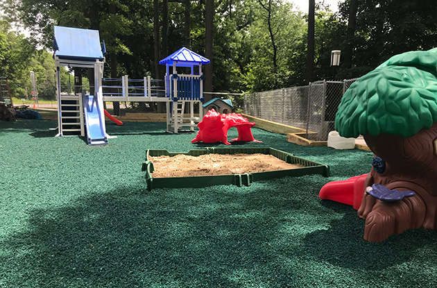 Students at the Countryside Montessori School Enjoy a New Playground This Summer