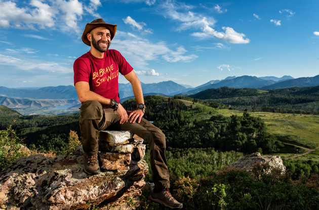 Coyote Peterson Talks New Book, YouTube, and Intentionally Getting Stung and Bitten