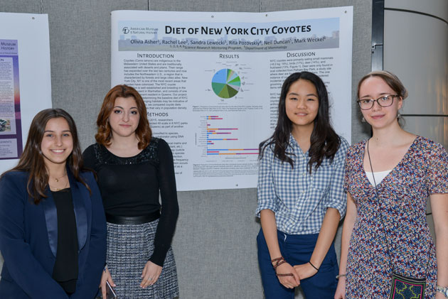 Teens Release Research on Two New Animals in NYC