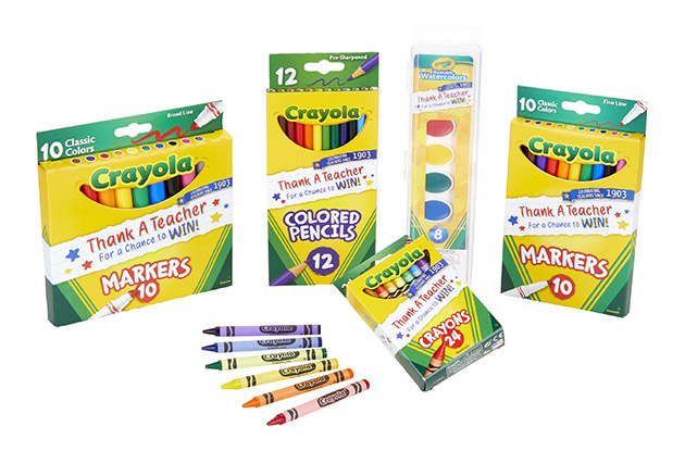 Crayola Launches a Nationwide Contest to Honor the Best Teachers