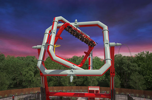 Six Flags Great Adventure to Debut Gravity-Defying Ride in 2018