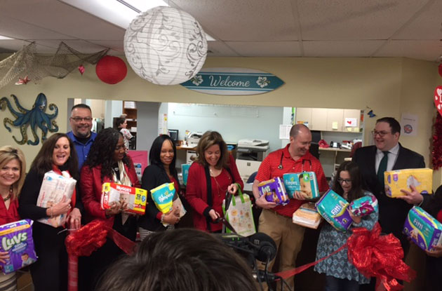 Diaper Bank Opens on Long Island