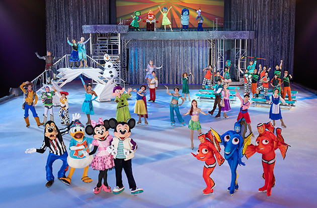 Behind the Scenes with Disney On Ice: Follow Your Heart