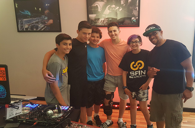 Spin DJ Academy Summer Camp in Rockville Center Gets Brand New State-of-the-Art Performance Stage