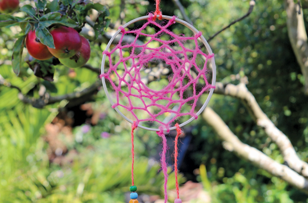 DIY Dream Catcher Craft for Children