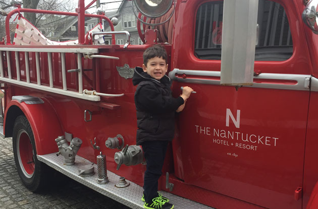 Winter Fun in Nantucket