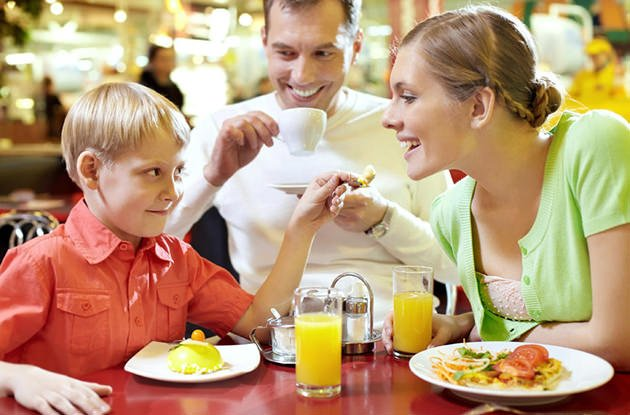 Dining Out with a Child with Autism