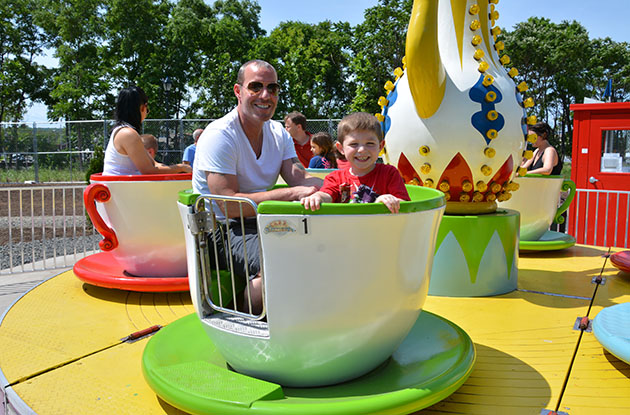 New Ride Opens at Fantasy Forest Amusement Park
