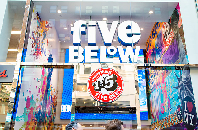 Five Below Opens First Manhattan Location on Fifth Avenue This Weekend