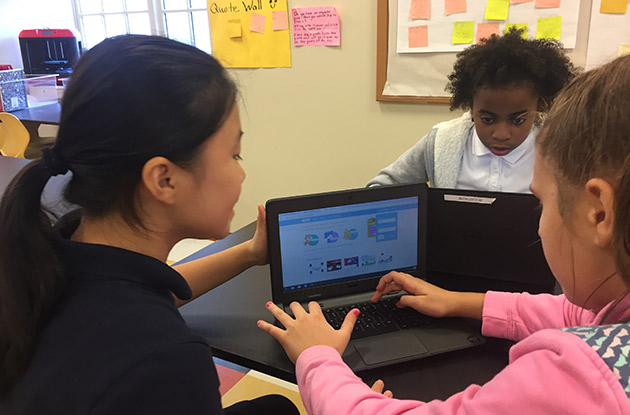 Friends Academy Introduces Hands-On STEM Class to Fifth Graders