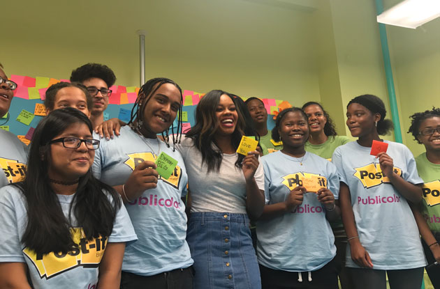 Interview With Olympic Gold Medalist Gabby Douglas On Setting Goals