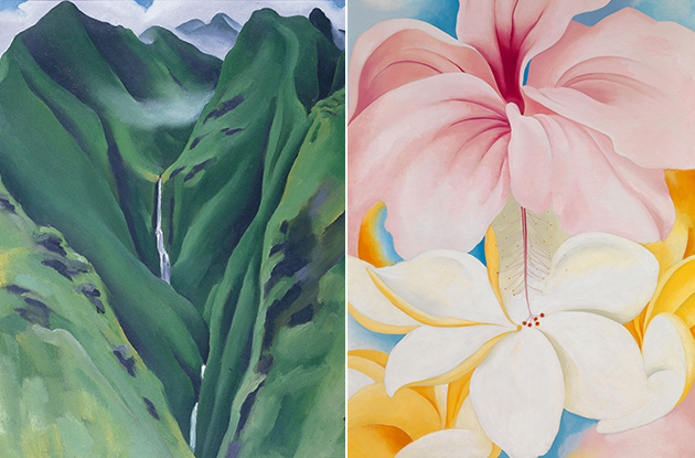 Say 'Aloha' to New York Botanical Garden's Georgia O'Keeffe: Visions of Hawaii Exhibit
