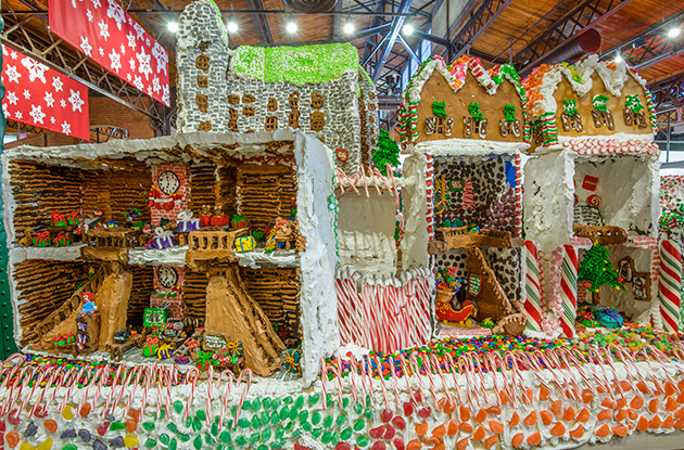 A Visit to GingerBread Lane at the New York Hall of Science