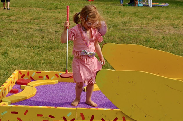 FIGMENT's Artist-Designed Mini Golf Course on Governors Island Needs Your Help