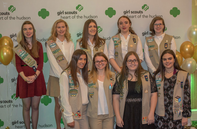 14 Rockland County Girl Scouts Earn Gold Awards for Outstanding Achievements